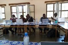 Workshop participants discuss plans in Banfora, December 2020