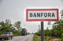 Entrée de la ville de Banfora, crédit photo Anne Mimault, 2017