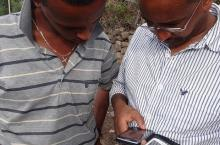 Baseline data collection in Ethiopia