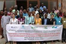 Workshop in Benin of representatives of African collectives in the water and sanitation sector
