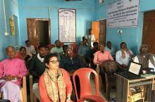 Participants at the Bihar workshop, February 2020