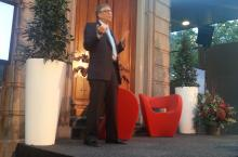 Bill Gates Oneworld meeting in The Hague