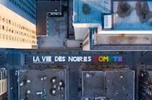 La Vies des Noires Compte / Black Lives Matter, Gay Village, Monteal
