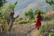 Nepalese vrouw