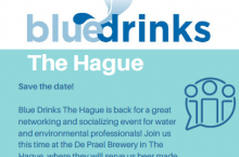 Blue Drinks, The Hague Edition II Save the Date