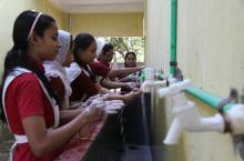 Mohamuni Anglopali High School, Pahatali union, Rauzan upazila, Chittagong. Photo: Petra Brussee/IRC