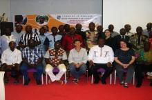 Workshop participants in Banfora, Burkina Faso