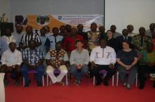 Participants of the One Drop workshop in Burkina Faso