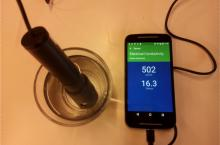 Akvo Caddisfly - mobile water quality anaysis