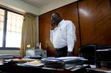 Picture of government official Ghana_ picture by IRC
