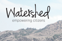Watershed wordmark cpature
