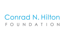 Logo of the Conrad N. Hilton Foundation