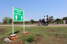 Travellers in Uganda can now access sanitation facilities on newly constructed highways