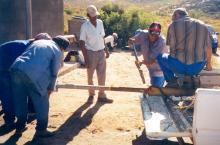 Dismantling pump of borehole