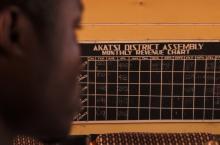 Akatsi District monthly revenue board