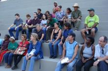 Reunión de barrio en Belo Horizonte, Brasil