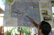 Indicating SWITCH study area in Belo Horizonte, Brasil