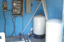 Water and energy storeroom