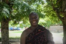 Nana Anim Dankwa Samanhene, Chief of Kenyasi no. 1 is a WASH advocate, actively involved in the WASH master planning