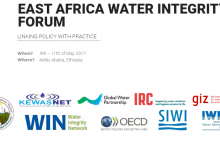 East Africa Water Integrity Forum partners