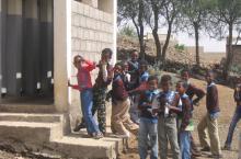 Public toilet in Eritrea