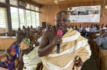 Ghana - Asutifi North master plan meeting