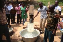 FLOW training in Ghana, 2013.