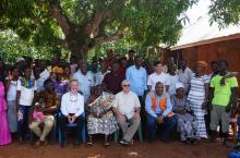 Panaaba community joins Hilton team and partners after mini durbar