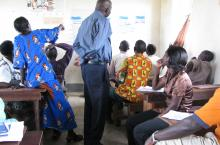 Group work in action in Uganda