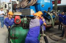 Municipal pit emptying services in Hai Phong City, Vietnam