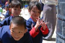 Handwashing in Bhutan