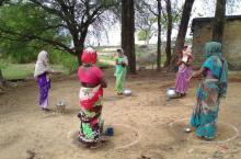Handwashing instructions in India