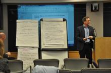 Image of Harold Lockwood at the 4th WASH sustainability forum
