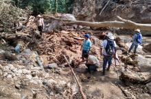Hurricane damage in Honduras - photo Water For People