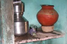 Household water treatment items used in India