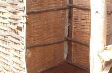 Rural latrine in Ethiopia