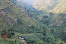 Rural village in Kabarole district, Uganda