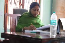Secretary at Patharpratima block office