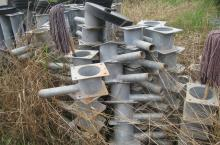 spare parts in a field
