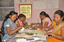 SHG Federation workers of Kanamana Gram Panchayat