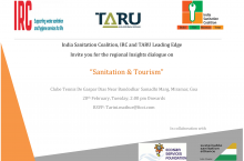 "Invitation to Insights dialogue on ""Sanitation & Tourism"""