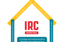 IRC Burkina mission in an infographic