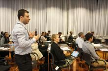 Discussions at the 2014 WASH Sustainability Forum. Credits Felix Kalkman