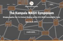 Kampala WASH Symposium logo