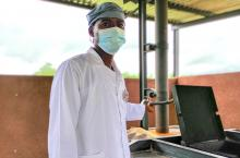 Health technical director in Nossombougou commune in Mali