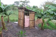 A rural latrine providing protection and privacy