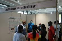 Poster presentation by Asutifi North District at National Learning Exchange