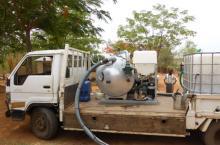 ROM Mobile Desludging Unit in Malawi