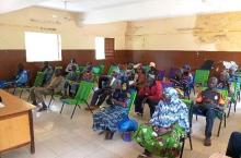 Members of PMH management committees present at the training (Ph N. Saliya)