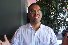 Martin Rivera during IRC 50 interview